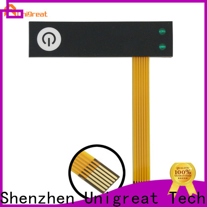 Unigreat professional membrane switch panel manufacturer for smart home appliances