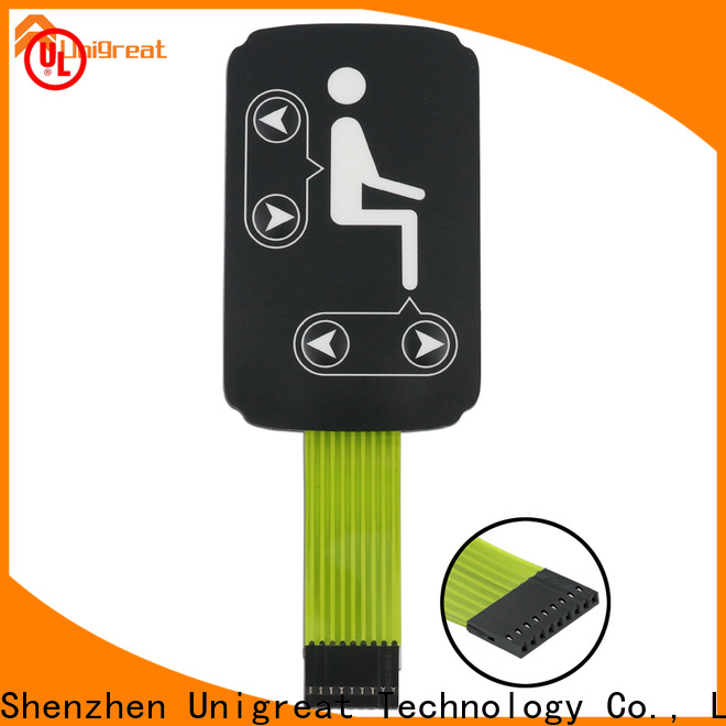 Unigreat membrane switch panel supplier for office equipment