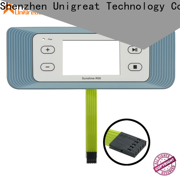 Unigreat membrane switch panel factory price for smart home appliances