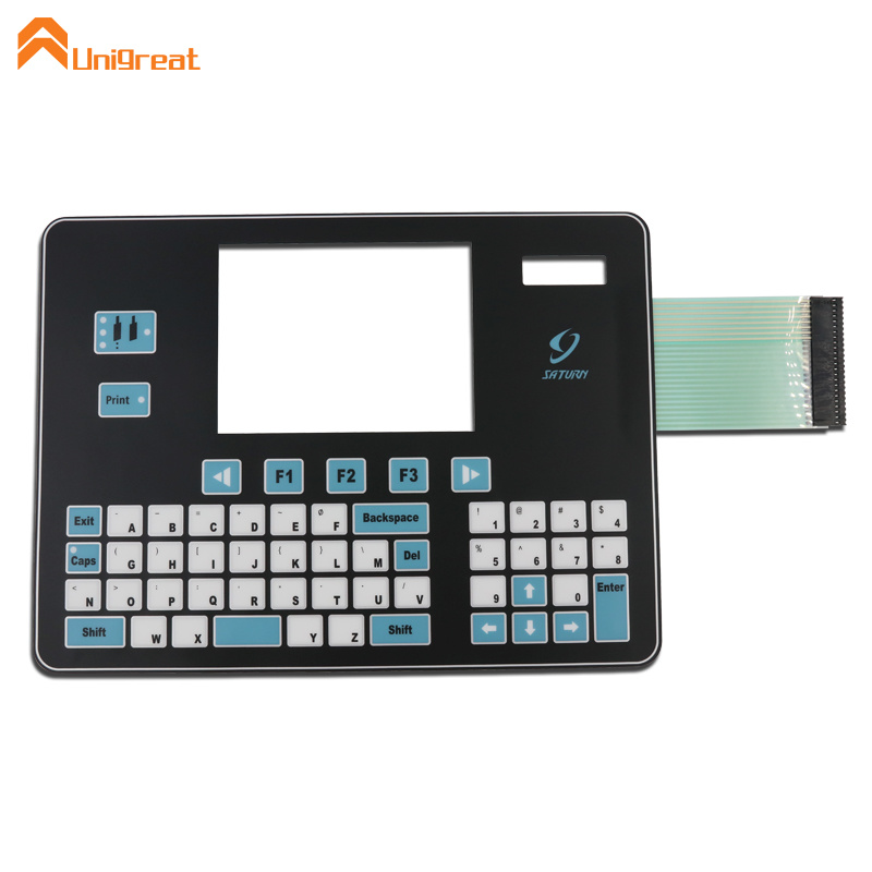 Factory new design high quality waterproof poly dome membrane keypad switch