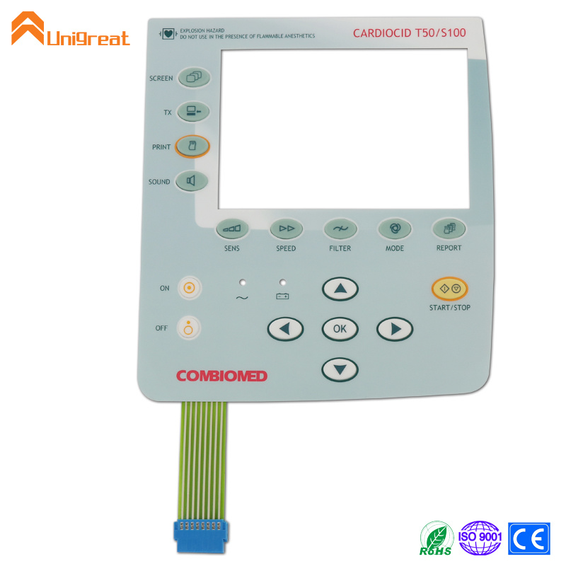 Best price factory Customized silicone rubber button membrane switch