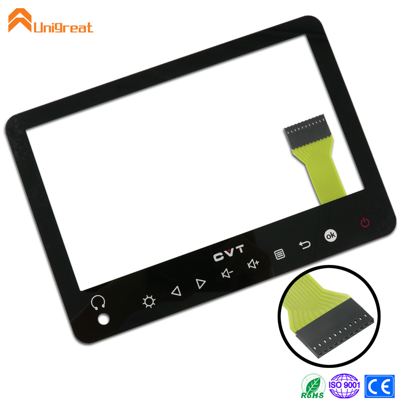 PMMA acrylic decorative capacitive touch switch panel