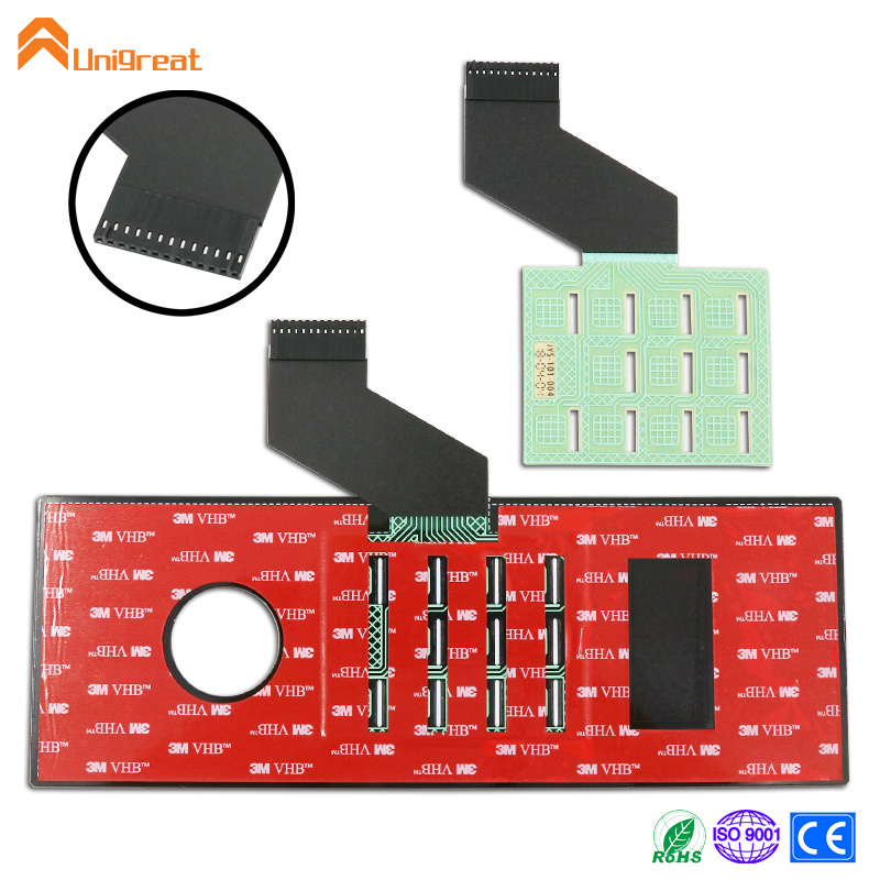 New high quality custom glass touch switch with capacitive circuit