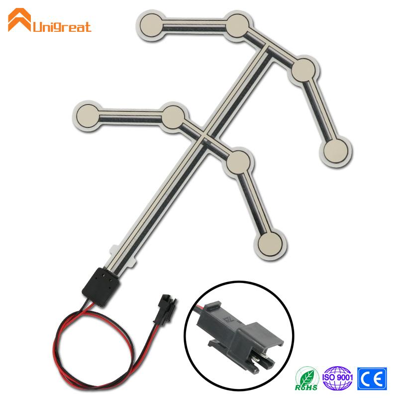 Custom car taxi  seat pressure sensor membrane sensor