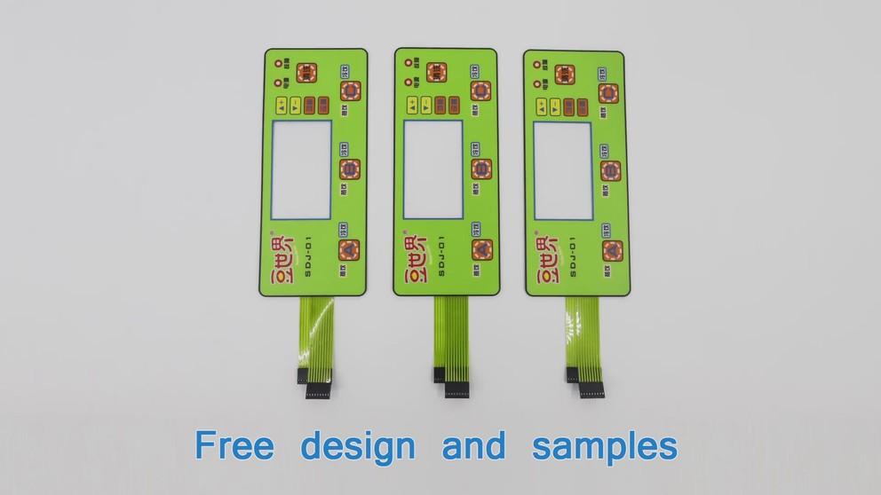 LED membrane switch 03