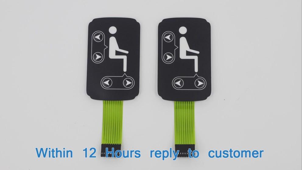 light guiding panel membrane switch 07