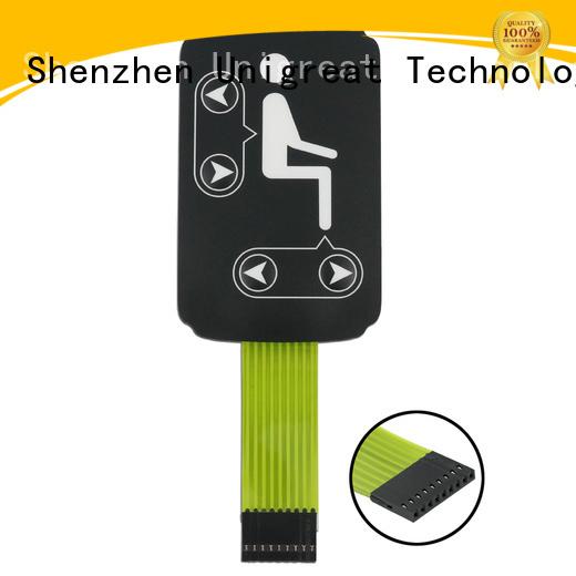 Unigreat membrane switch supplier for automobile