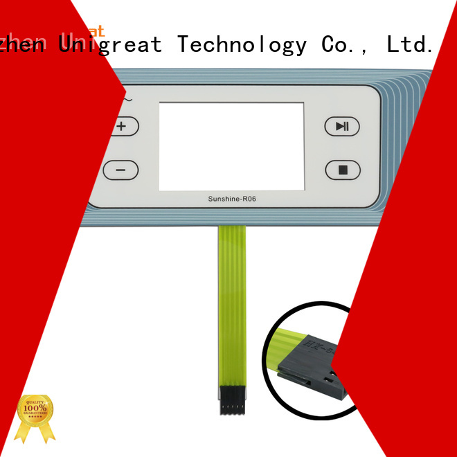 Unigreat membrane switch panel manufacturer for office equipment