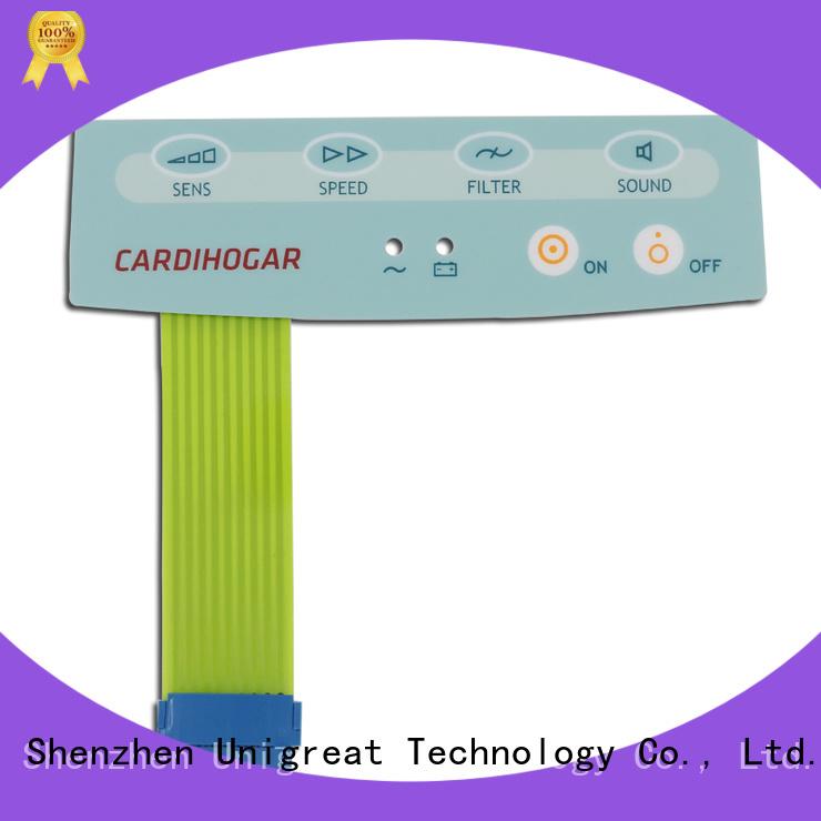 Unigreat keypad switch manufacturer for medical equipment