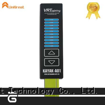 Unigreat membrane keypad directly sale for office equipment